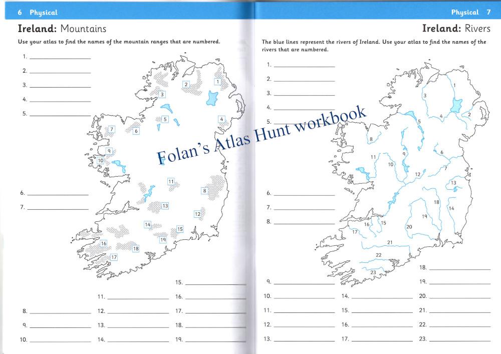 Folan's Atlas Hunt workbook