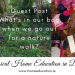 HomeEducation.ie Nature Walk Guest Post
