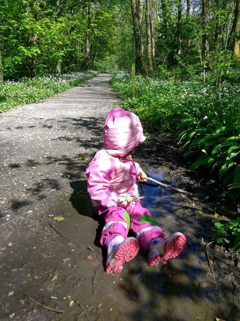 Sitting In Mud