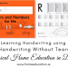 HWT Handwriting Without Tears