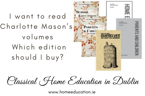 HomeEducation.ie Charlotte Mason Volumes