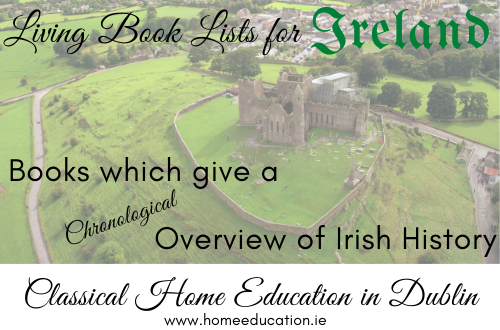 Books which give a Chronological Overview of Irish History